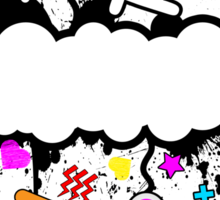 Trippy de-do-da Sticker