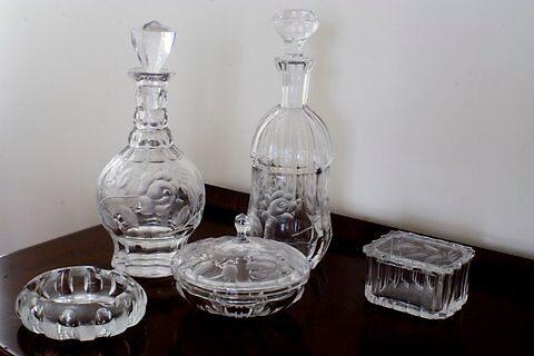 Juego complementario Rosenthal cristal by Vilma  Alfandary