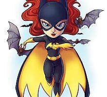 Batgirl by keshi