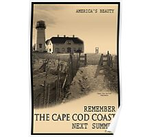 Cape Cod Coast Poster Poster
