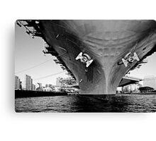 USS Midway Canvas Print