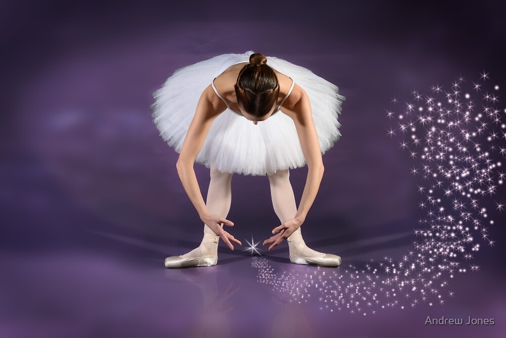 The Starstruck Ballerina by Andrew Jones
