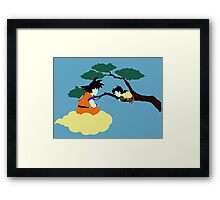 Father and Son (clean) Framed Print