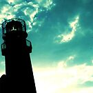 Lighthouse Silhouette by ericafaye