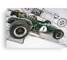 Formula One Brabham Canvas Print