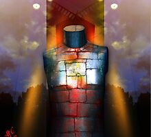 Steel Breast...Light Arms by RosaCobos