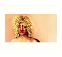 portrait of    yoyo Art Print