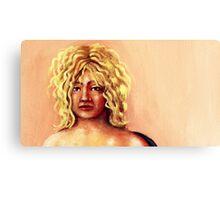 portrait of    yoyo Canvas Print