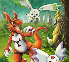 Digimon Tamers by Kacey Boxall