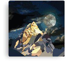 Night Mountains No. 10 Canvas Print