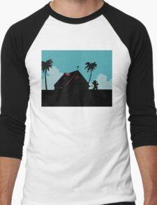 Kame House Men's Baseball ¾ T-Shirt
