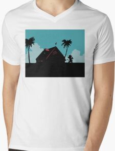 Kame House Mens V-Neck T-Shirt