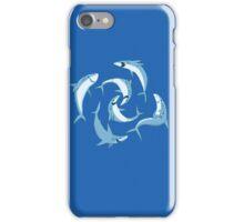School of Happy Sharks iPhone Case/Skin