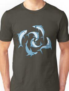 School of Happy Sharks Unisex T-Shirt