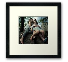 All for One and One for All Framed Print