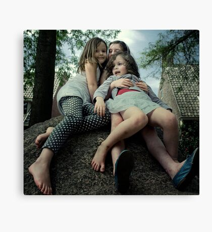 All for One and One for All Canvas Print