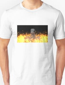 Terminator T-800 In Flame T-Shirt