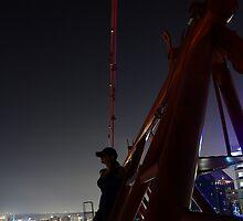 Erica's first crane by Michael Gatch