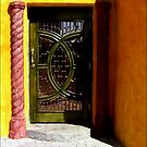 The Prettiest Door in Juarez by paintingsheep