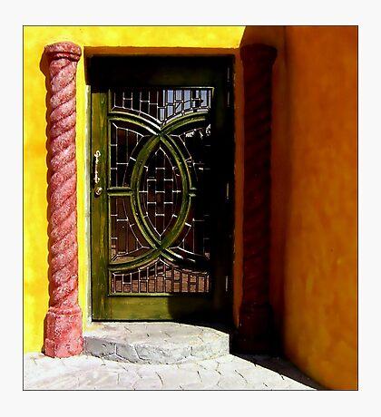 The Prettiest Door in Juarez Photographic Print