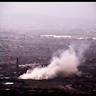 Implosion of Athlone Towers by Ruth Smith