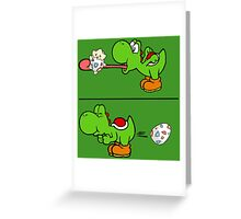 Delicious egg Greeting Card
