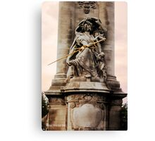 Gold Sword Canvas Print