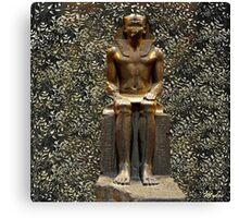 Egypt Antiquities Collection:  The Garden of Pharaoh Canvas Print