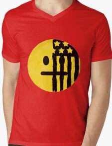American Beauty American Psycho Emoji Mens V-Neck T-Shirt