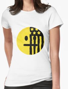 American Beauty American Psycho Emoji Womens Fitted T-Shirt