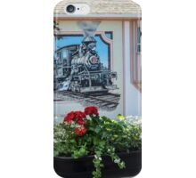 The amazing town of Chemainus - covered in murals iPhone Case/Skin