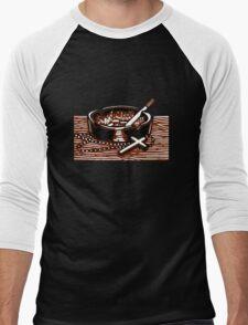 Cigarettes and God. Men's Baseball ¾ T-Shirt