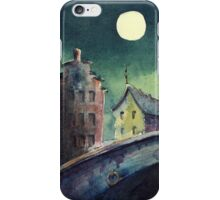 While the Town slept iPhone Case/Skin