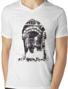 Dracula's Birthplace Mens V-Neck T-Shirt