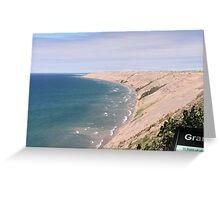 Lake Superior Dunes Greeting Card