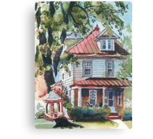 Frank Home Canvas Print