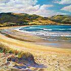 'Golden Shores' - (Apollo Bay) by Lynda Robinson