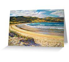 'Golden Shores' - (Apollo Bay) Greeting Card