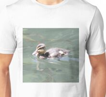 Baby Mallard on Fish Pond Unisex T-Shirt