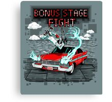 Bonus Stage Canvas Print