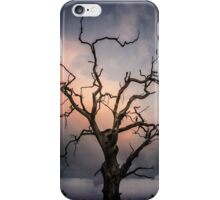 Late evening cloud display iPhone Case/Skin