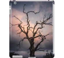 Late evening cloud display iPad Case/Skin