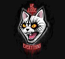 Judgement Kitty  Unisex T-Shirt