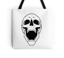 Skull Scream Tote Bag
