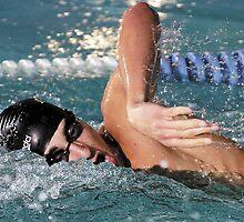 Swim Meet by Brett Clark