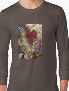 'Raw'- Jeff Buckley  (No. 3 in the Rock Music Art Series) Long Sleeve T-Shirt