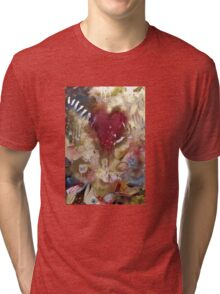 'Raw'- Jeff Buckley  (No. 3 in the Rock Music Art Series) Tri-blend T-Shirt