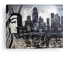 New York Escape Canvas Print
