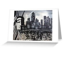 New York Escape Greeting Card