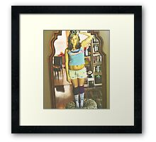 Primed to Paint Framed Print